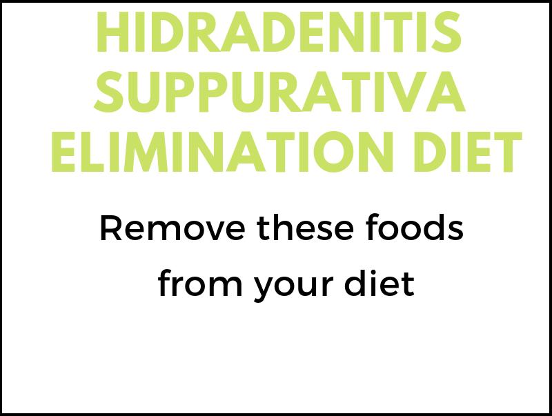 Hydradenitis Suppurativa Elimination Diet
